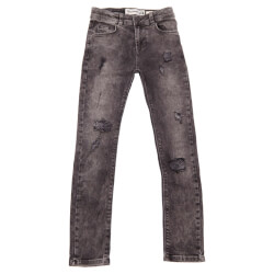 Enrico slim fit jeans fra Costbart i grå denim 12866-847 set forfra
