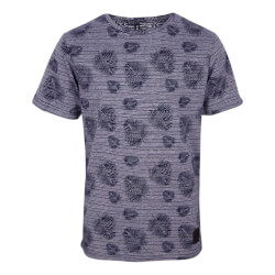 Super fed t-shirt fra Grunt med navy print