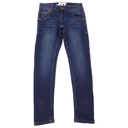 Slim fit denim jeans fra Jeff 25632-W60 set forfra