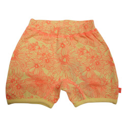 Zille shorts fra Kids Up i lys gul/coral