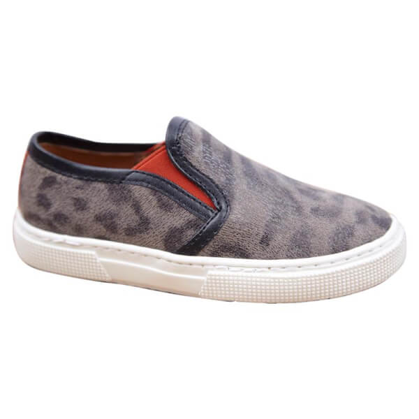 Fede leopard sko fra Move - Slip-On model