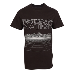 First Grade - Space Nation T-shirt Black