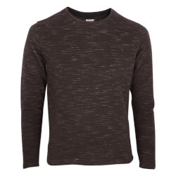Smart sort meleret sweatshirt fra Native