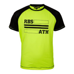 Fed neon orange sports T-shirt fra Rebus