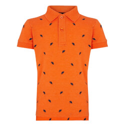 Bob Polo T-shirt i orange fra RedGreen
