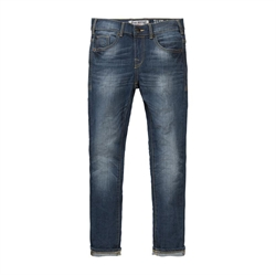 Petrol - Denim Bukser Slim Fit