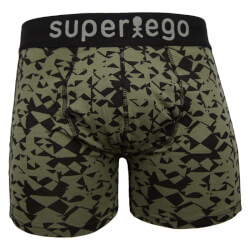 Super fine tights/underbukser fra Super Ego - All-over-printed grafisk