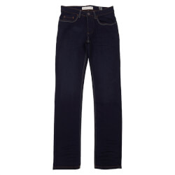 Regular jeans fra Super Ego i mørk denim blå 59087-32-J38 set forfra