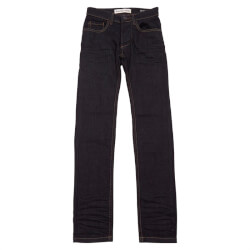 Slim fit denim blue jeans fra Super Ego til drenge teens 59100-J04 set forfra