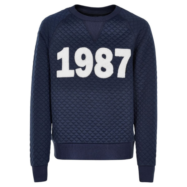 Skøn quiltet sweatshirt fra The New - Frey
