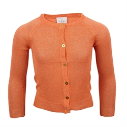 The New - Aya Cardigan Nectarine