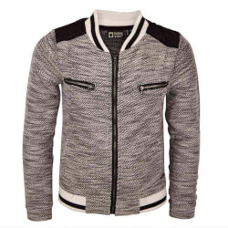 Smart cardigan fra Tumble'n dry i sort og offwhite