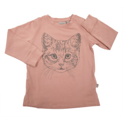 Super fin T-shirt fra Wheat - Cat