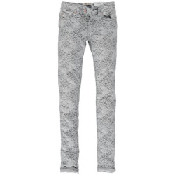 Fede super slim jeans fra Garcia model Sara med smart print