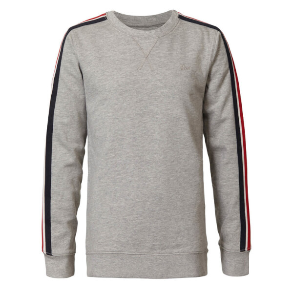 Petrol - Sweatshirt Light Grey