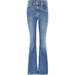 Costbart Pige - Anne Flared Jeans Light Blue Denim Wash