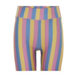Costbart Pige - Nelly Cykel Shorts Dusty Blue Stripe