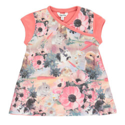 Amy mini top fra Happy Calegi med all-over-print set forfra CA1002