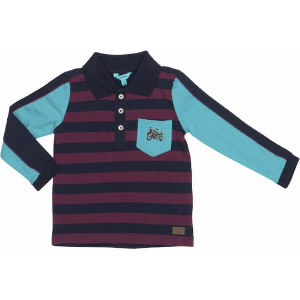 Image of Happy Calegi - Fin polo T-shirt