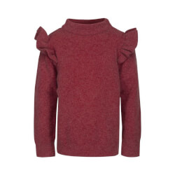 Petit Sofie Schnoor - Strik Bluse Earth Red