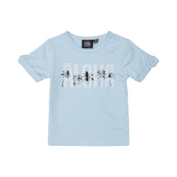 Smart Julius t-shirt i lyseblå fra Petit by Sofie Schnoor - P202415-LIGHT-BLUE