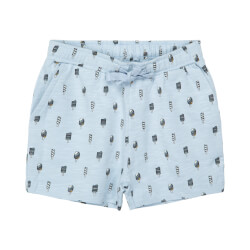 Smarte Monty shorts med is print fra Petit by Sofie Schnoor - P202512-LIGHT-BLUE