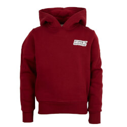 First Grade - Plain Hoodie Red