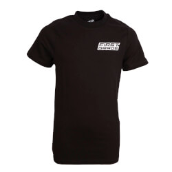 First Grade - Plain T-shirt Black