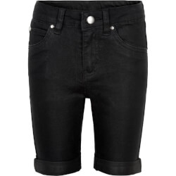 Sorte slim fit shorts med ombuk fra The New - TN1783-BLACK
