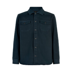 The New - Roleg Bomber Skjorte Navy Blazer