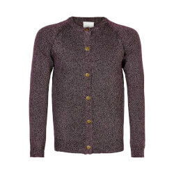 The New - Aya Cardigan Potent Purple