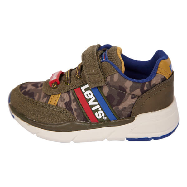 Levis Kids - New Oregon Mini Sneakers Camouflage