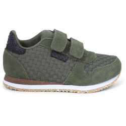 Woden Kids - Ydun Weaved II Sneakers Pine Tree Green
